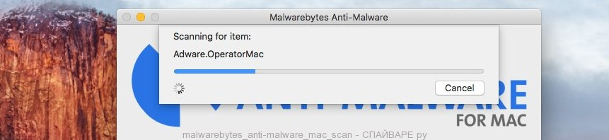 Malwarebytes anti-malware для Mac