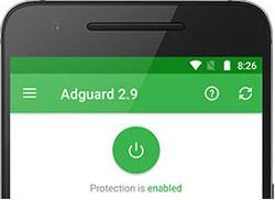 AdGuard для телефона на Андроиде