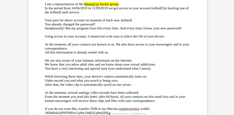 Email Hacker Bitcoin