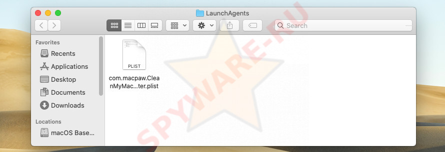 LaunchAgents folder