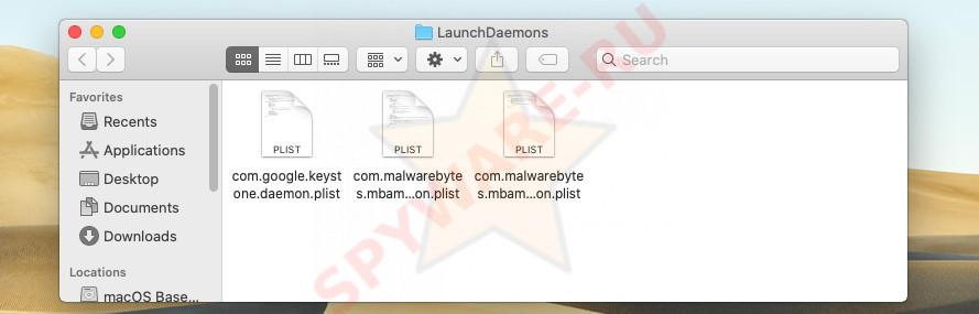 LaunchDaemons folder